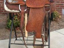 Big A Quality Ranch, Trail, Work Saddle