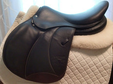 "17.5"" Voltaire Stuttgart Full Buffalo Saddle 2016 3AA"