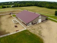 35 Acre Horse Farm W/ Indoor