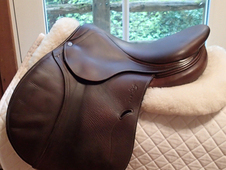 "Beautiful 16. 5"" Antares Full Buffalo Saddle 2010 2NB"