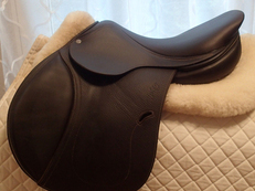 "16.5"" Antares Evolution Full Buffalo Saddle 2015 2N"