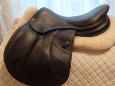 "17.5"" Voltaire Palm Beach Full Buffalo Saddle 2014"