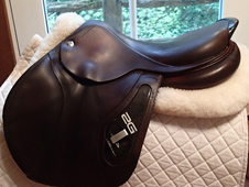"Beautiful 17. 5"" CWD 2G Saddle 2010"