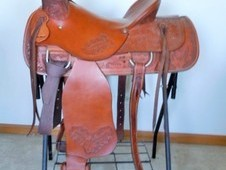 Custom Ranch Saddle
