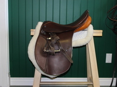 Stubben Siegfried VSD Dressage Saddle 18