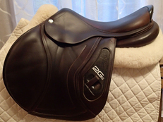 "17.5"" CWD 2Gs Full Buffalo Saddle 2014 3C"
