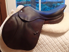 "Lovely 17.5"" CWD Saddle 2008 2L"