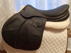 "19.5"" Voltaire Palm Beach Full Buffalo Saddle 2014 4AAAR"