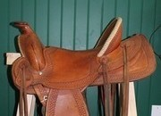 Gary McClintock Western Saddle RARE