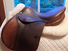 "Gorgeous 16.5"" Devoucoux Biarritz Saddle 2008"