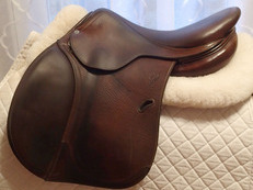 "16.5"" Antares Full Buffalo Saddle 2012"