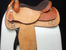 RS Show Saddle (Western)16ins Draft Bars (8ins) Ref: 3456-1