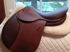 "Totally pristine almost-new 16"" Butet Saddle 2016"