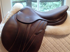 "Stunning 16"" Butet Premium Full Calfskin Saddle 2015"