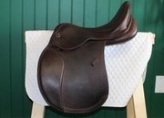 REDUCED! M. Toulouse Sienna Platinum All Purpose Saddle