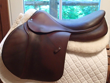 "Gorgeous 18.5"" Devoucoux Biarritz Saddle with D3D Technology 2011 3AR"