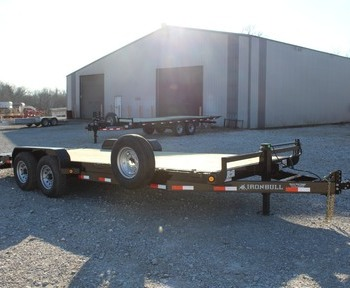 2019 Norstar Iron Bull ETB 83 x 22' Equipment Trailer