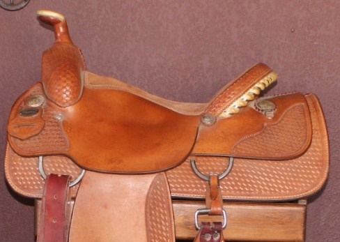 Crates Mike Beers Western Roping Saddle 16