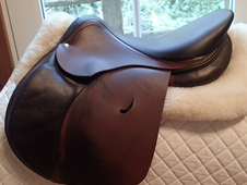 "Gorgeous 16. 5"" Devoucoux Huarra Saddle with D3D Technology 2013"