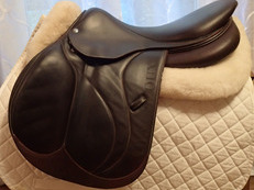 "17.5"" Devoucoux Biarritz S Full Buffalo Saddle with D3D Technology 2018 3A"