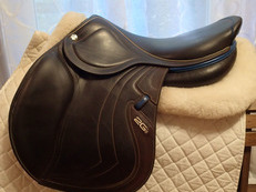 "17.5"" CWD 2Gs Mademoiselle ""Miss"" Full Buffalo Saddle 2017 2L"