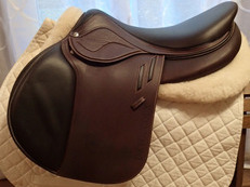 "BRAND NEW 18"" Devoucoux Biarritz Lab Saddle with D3D Technology 2018"