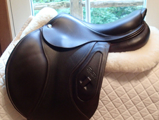 "Stunning 17"" CWD 2Gs Hunter Saddle 2016 3L"