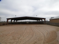 HORSE RANCH ON 65 ACRES WITH 100x100 COVERED ARENA & MORE