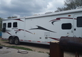 2013 Bison Stratus 8316MM 3 horse with 17ft SW, 12ft slide living quarters Used