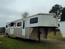 Custom 2003 All Aluminum Sundowner 5 Horse Head to Head