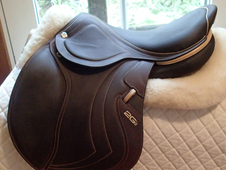 "Stunning 17"" CWD Mademoiselle 2Gs Full Buffalo Saddle 2017 NEW"