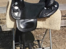 Beautiful orig Bob Marshall trail saddle