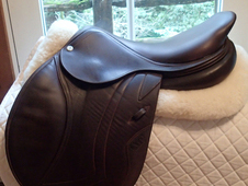 "Demo condition 17. 5"" CWD Full Calfskin Saddle 2015 3L"