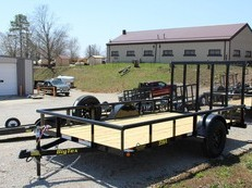 2019 BIG TEX 35SA 6'6 X 12' UTILITY TRAILER