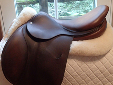 "Beautiful 17. 5"" PJ ""The Original"" Saddle 2011"