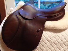 "Beautiful 17.5"" CWD Saddle 2010 3L"