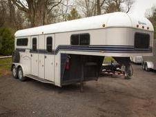 1998 Kingston Belvedere Trailer 2 Horse Trailer