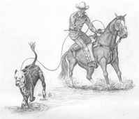 Choosing the Right Horse for Calf Roping