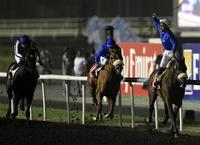 Dubai horses are 1-2 in Dubai World Cup