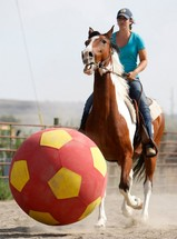 Horse Soccer Catching on In Montana