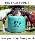 Big Bale Buddy - home of innovative feeders for all your hay feeding needs.