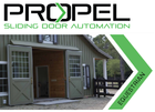 Propel Sliding Door Automation
