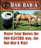 Bar-Bar-A- HORSES+WATER+  ELECTRICITY=DANGER!